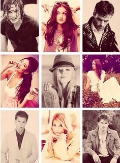 Pretty Litte Liars cast
