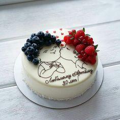 Birthday Ideas For Husband Cake Ideas Cake Decorating Piping, Cake Decorating Videos, Birthday Cake Decorating, Aniversary Cakes, Birthday Cake For Boyfriend, Happy Birthday Cakes, Cake Birthday, Birthday Ideas, Valentine Cake