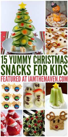 You'll love these fun Christmas snacks for kids!