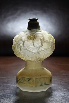 Art deco perfume bottle by Glassholic, via Flickr #BookofLostFragrances #Suspense #Novel