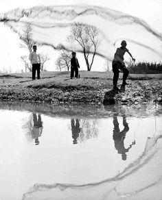 Fernand Gigon  Fischer in der Provinz Jehol, China, 1956  From Pro Litteris / Fotostiftung Schweiz