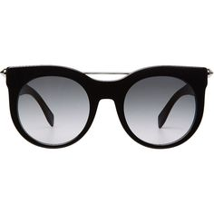 3e5f5dee3f3 See this and similar Alexander McQueen sunglasses - Finished with a  hand-set