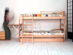 Litera infantil con cama Nido y escalera inclinada : Accesorios y decoración de Haiku-Futon
