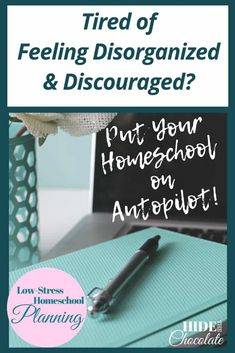 I want my homeschool to run smoothly. I spend days and weeks planning all these great things we are going to do, and then a little hiccup can throw things off and put me in a tailspin. I want to have a smooth routine that rolls with the punches but also keeps us on on task. I want to put my homeschool on autopilot, so we don't lose momentum and we have a successful year. #homeschooling #homeschoolonautopilot via @hidethechocolate