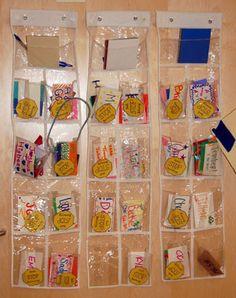 Cheer Mailboxes! Such a cute idea!