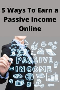 Passive income, also known as residual income, is money you earn while you're not actually working. Sounds simple enough. A lot of ground work goes in before it gets to that stage. Instead of trading your time for money. Like most people do at their 9 to 5 jobs. Passive income is all about having money trickle in even while you're a sleep. There is so many ways to make money online these days. Today I will cover the 5 ways to earn a passive income online. Way To Make Money, Make Money Online, Passive Income, 5 Ways, Stage, Sleep, Simple, Cover