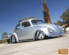 Silver #VW #beetle #vosvos #Volkswagen