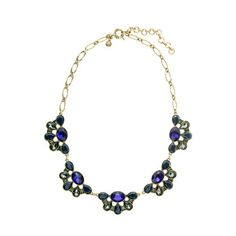 Crystal droplets necklace  $49.50 #JCrew