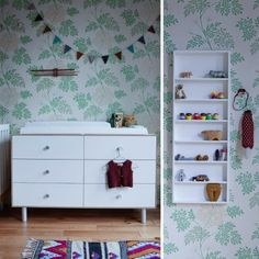 Oeuf Merlin 6 Drawer Dresser in Birch with Classic Base [Eco Friendly] Dresser Top, 6 Drawer Dresser, Nursery Furniture, Nursery Bedding, Changing Station, Kid Spaces, Storage Spaces, Just In Case, Shelving