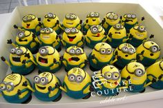 Despicable Me Cupcakes!! These are adorable!!