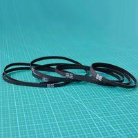 Free shipping  10pcs/lot  320mm length  160 teeth  6mm width  Closed-loop GT2 Timing Belt  320-2GT-6