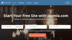Joomla! offre un hébergement gratuit de votre site sur joomla.com en partenariat avec SiteGround