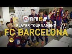 FIFA 15 - FC Barcelona Player Tournament - Messi, Neymar, Alves, Piqué, Alba, Rakitić, Bartra, Munir - YouTube