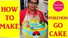 Pokemon pokeball charmander pikachu  6th birthday cake design ideas deco... Simple Birthday Cake Designs, Easy Kids Birthday Cakes, Cartoon Birthday Cake, Cake Designs For Kids, Friends Birthday Cake, Animal Birthday Cakes, Simple Cake Designs, 6th Birthday Cakes, Frozen Birthday Cake