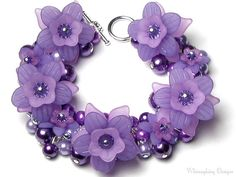 She Flirted With Lavender But Wild Purple door whimsydaisydesigns, $36.00