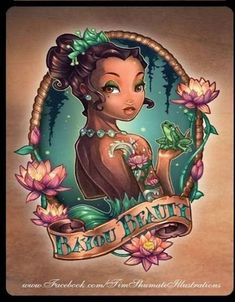 Disney Princess Tattoos Disney tattoo