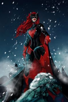 Batwoman by Brett Booth & Forty-Fathoms Nightwing, Dc Batgirl, Red Robin, Robin Dc, Dc Comics Girls, Dc Comics Art, Red Hood, Jason Todd, Gotham City