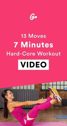 Pass the towel, please.  #greatist http://greatist.com/move/home-workout-7-minute-total-body-HIIT-workout