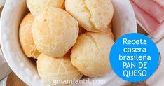 Pan de queso. Cocina brasileña para niños Ciabatta, Sin Gluten, Health Fitness, Dairy, Cheese, Baking, Food, Ideas, Recipes
