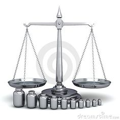 Scales Of Justice And Weights Stock Images - Image: 22483484
