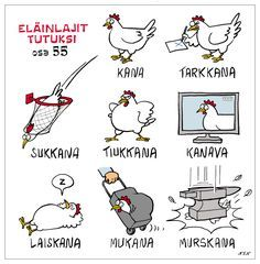 Eläinlajit 55 Meanwhile In Finland, Learn Finnish, Finnish Words, Finnish Language, Language Quotes, Funny Me, Hilarious Stuff, Funny Posts, Funny Animals