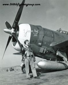 "P-47    ""You've Had It"" , Pilot:  LTC John Haesler Commander 397th FS"