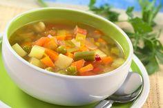 Imagem de tigela de sopa de legumes