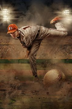 Extreme Victory Pitchers Mound Background showcases athletic artistry focusing on high school baseball pitching in Full-Res Layered PSD Background from Double Diamond Award Winner Richard Sturdevant. Baseball Senior Pictures, Senior Photos, Senior Portraits, Baseball Photography, Poster Photography, Photography Ideas, Baseball Pitching, Sports Baseball, Movie Poster Template