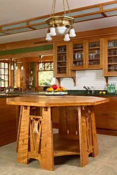 Craftsman Style Kitchen Cabinets Arts Crafts Cherry Kitchen Build And Install Cabinets And Doors New House Kitchen Design Pinterest