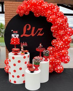 Tips and Trick on Birthday Party Ideas Decoration Minnie, Minnie Mouse Birthday Decorations, Minnie Mouse Balloons, Mickey Mouse Birthday, Minnie Mouse Party, Balloon Decorations, Diy Birthday, Birthday Party Themes, Paris Birthday