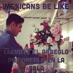 Not limited to Mexicans..so embarrasing but they be like no llevatelo para eso son