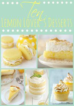 Lemon Lover's Dessert Roundup