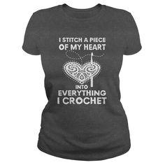 I stitch a piece of my heart into everything I crochet :)