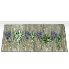 Vysokoodolný kuchynský koberec Webtappeti Lavender, 60×140cm | Bonami