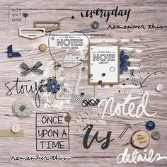Memory Pocket Monthly | FOUNDATION (Neutral Collection) by The LilyPad Designers and Sahlin Studio