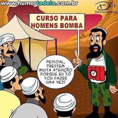 SOLARIS                           : CURSO PARA HOMEM BOMBA - Humor