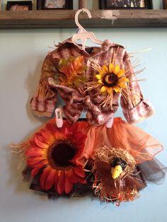 Toddler scarecrow