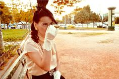 Vintage Hairstyle, Make Up, Styling & Accessories by Dazzlin' Gal. Photos by Mrz De Ville