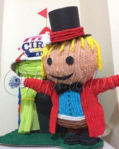Fiestas temáticas Circus de Matias celebra su cumpleaños  Piñata