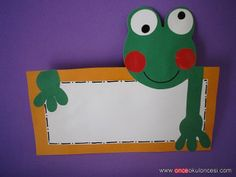 kurbağa yaka kartı