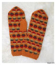 Megetar: Kirjoneulelapaset Gloves, Winter, Winter Time, Winter Fashion