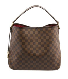 Louis Vuitton Delightful PM Damier Ebene Coated Canvas & Leather Hobo