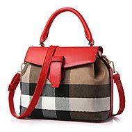 M.Plus® Women's Fashion PU Leather Messenger Shoulder Bag/Handbag Tote – GBP £ 192.70