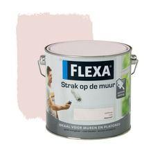 Flexa Strak op de Muur zachtroze mat 2 in de beste prijs-/kwaliteitsverhouding, volop keuze bij GAMMA