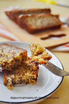 Dapur Mama Aisyah: Moist Banana Cake (no mixer!)/ Bolu Pisang Moist Tanpa Mixer