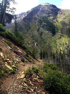 West Fork Trail, Mazama Washington.