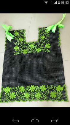 Me encanta la combinación del  negro con verde