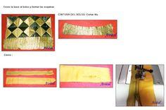 Bolso con bloques-triangulos  - 4