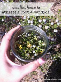 Natural Home Remedies for Athlete's Foot and Candida by Frugally Sustainable
