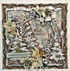 My Scrapping Place : Creative Embellishments January 2015 Challenge using Flying Unicorn, Petaloo and Magnoia products